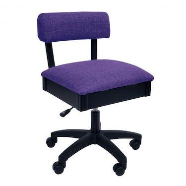 Arrow Royal Purple Hydraulic Sewing Chair