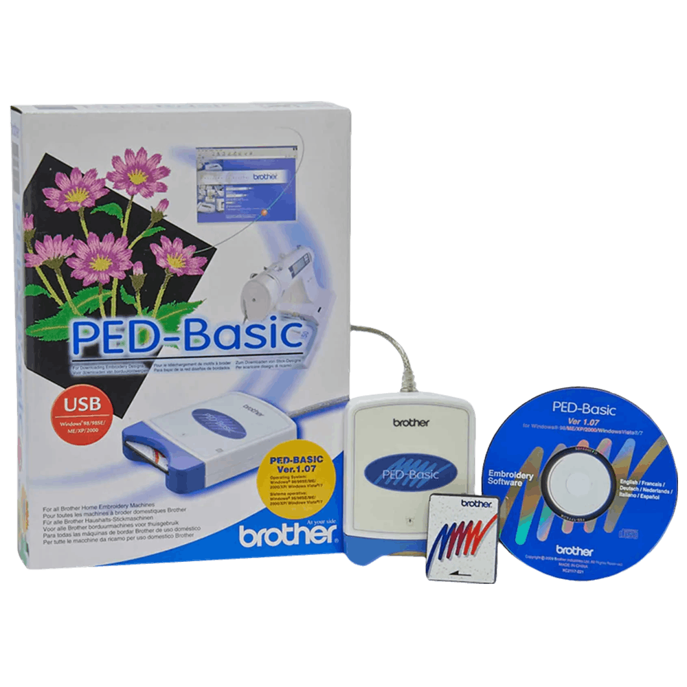 Brother Ped Basic For Downloading Embroidery Designs Ped Basic Free Shipping Over 49 99 Pocono Sew Vac