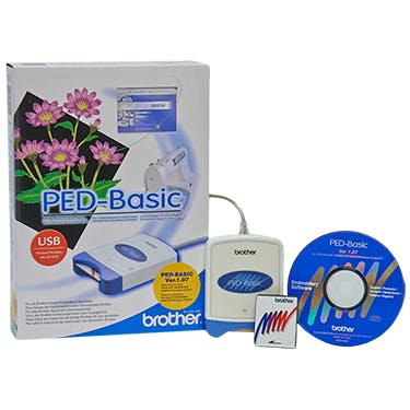 Brother PED-Basic for Downloading Embroidery Designs