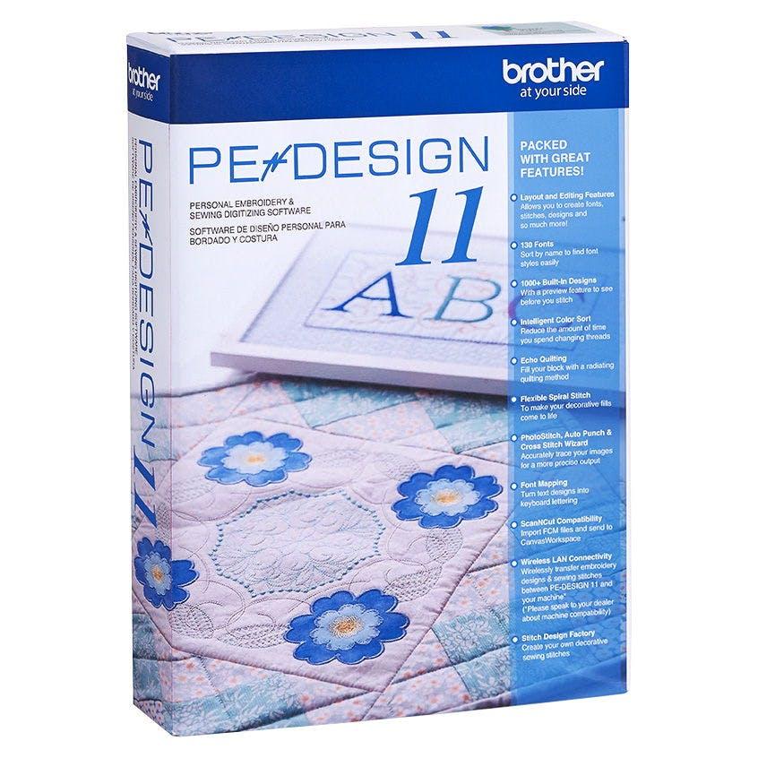 Brother Pe Design 11 Pocono Sew Vac