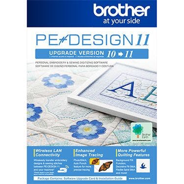 Brother PE Design 11 Upgrade