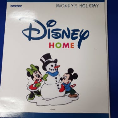 Brother Disney Home Mickey's Holiday Embroidery Designs