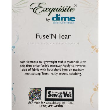 Exquisite Fuse N Tear Stabilizer 9