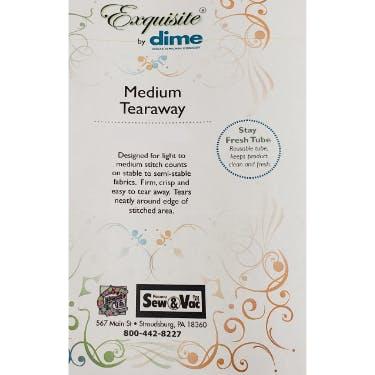 Exquisite Medium Weight Tearaway Stabilizer 9