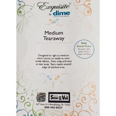 Exquisite Medium Weight Tearaway Stabilizer 12