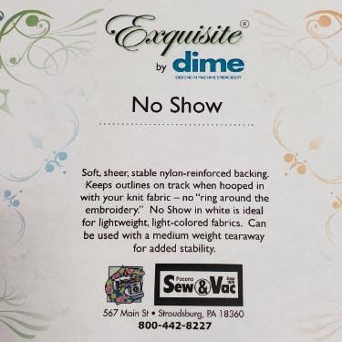 Exquisite No Show Stabilizer 12