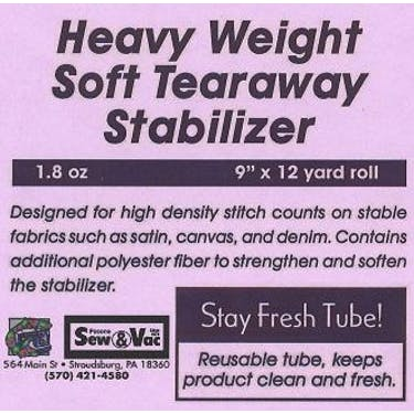 Exquisite Heavy Weight Soft Tearaway Stabilizer 9
