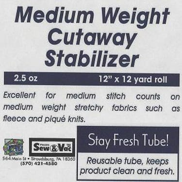 Exquisite Medium Weight Cutaway Stabilizer 12