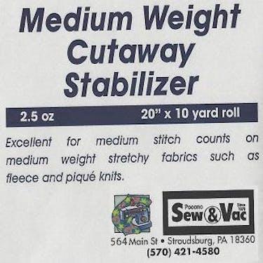 Exquisite Medium Weight Cutaway Stabilizer 20
