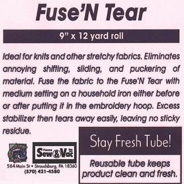 Exquisite Fuse N Tear Stabilizer 9