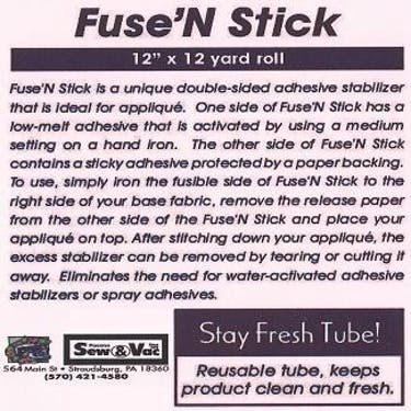 Exquisite Fuse N Stick Stabilizer 12