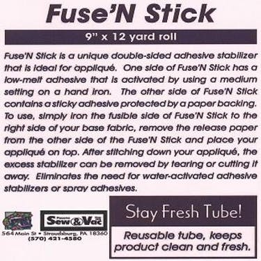 Exquisite Fuse N Stick Stabilizer 9