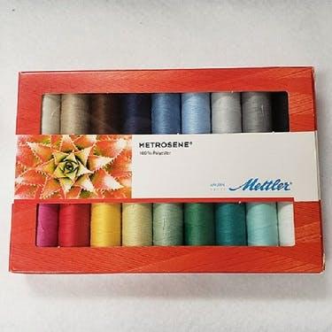 Mettler-Metrosene 100% Polyester 18 Thread Gift Pack