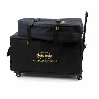 Baby Lock X-Large Machine Trolley Black Machine Luggage